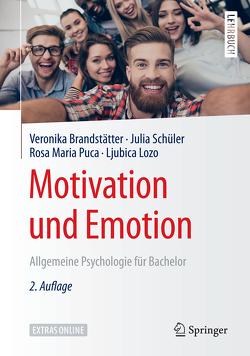 Motivation und Emotion von Brandstätter,  Veronika, Lozo,  Ljubica, Puca,  Rosa Maria, Schüler,  Julia