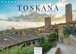 Motive der Toskana (Tischkalender 2020 DIN A5 quer) von Lederer,  Benjamin