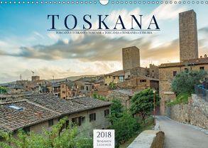 Motive der Toskana (Wandkalender 2018 DIN A3 quer) von Lederer,  Benjamin