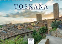 Motive der Toskana (Wandkalender 2019 DIN A3 quer) von Lederer,  Benjamin
