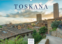 Motive der Toskana (Wandkalender 2020 DIN A2 quer) von Lederer,  Benjamin