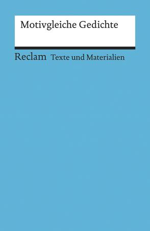 Motivgleiche Gedichte von Siekmann,  Andreas