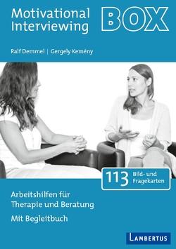Motivierende Gesprächsführung – Set mit Buch und Arbeitshilfenkarten von Demmel,  Ralf, Kemény,  Gergely, Miller,  William R., Rollnick,  Stephen