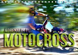 Motocross – Adrenalin pur (Tischkalender 2019 DIN A5 quer) von Bleicher,  Renate