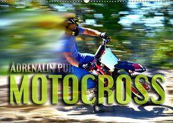 Motocross – Adrenalin pur (Wandkalender 2019 DIN A2 quer) von Bleicher,  Renate