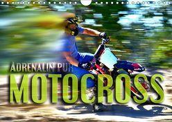 Motocross – Adrenalin pur (Wandkalender 2019 DIN A4 quer) von Bleicher,  Renate