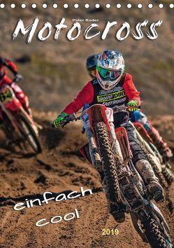 Motocross – einfach cool (Tischkalender 2019 DIN A5 hoch) von Roder,  Peter