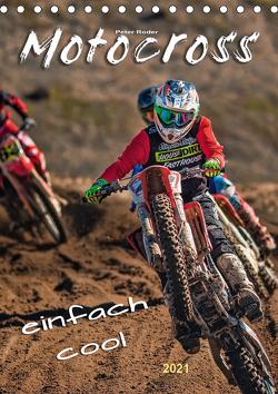 Motocross – einfach cool (Tischkalender 2021 DIN A5 hoch) von Roder,  Peter