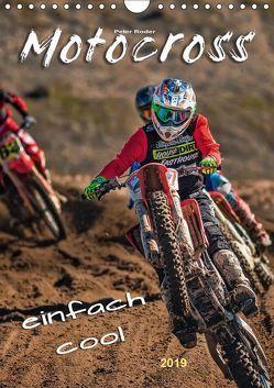 Motocross – einfach cool (Wandkalender 2019 DIN A4 hoch) von Roder,  Peter