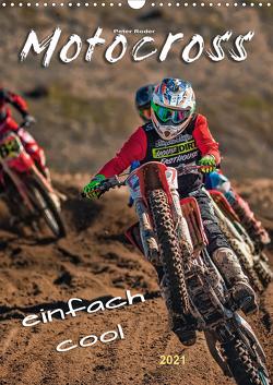 Motocross – einfach cool (Wandkalender 2021 DIN A3 hoch) von Roder,  Peter