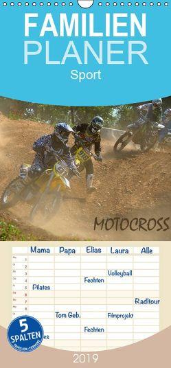 Motocross – Familienplaner hoch (Wandkalender 2019 , 21 cm x 45 cm, hoch) von Dietrich,  Jochen