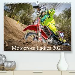 Motocross Ladies 2021 (Premium, hochwertiger DIN A2 Wandkalender 2021, Kunstdruck in Hochglanz) von Fitkau Fotografie & Design,  Arne
