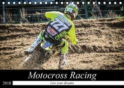 Motocross Racing 2018 (Tischkalender 2018 DIN A5 quer) von Fitkau Fotografie & Design,  Arne