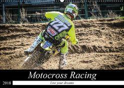 Motocross Racing 2018 (Wandkalender 2018 DIN A2 quer) von Fitkau Fotografie & Design,  Arne