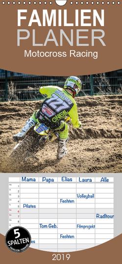 Motocross Racing – Familienplaner hoch (Wandkalender 2019 , 21 cm x 45 cm, hoch) von Fitkau Fotografie & Design,  Arne