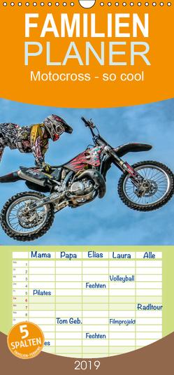 Motocross – so cool – Familienplaner hoch (Wandkalender 2019 , 21 cm x 45 cm, hoch) von Roder,  Peter