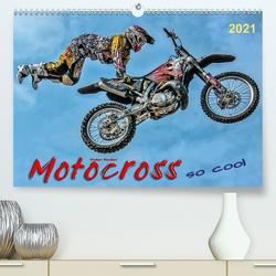 Motocross – so cool (Premium, hochwertiger DIN A2 Wandkalender 2021, Kunstdruck in Hochglanz) von Roder,  Peter