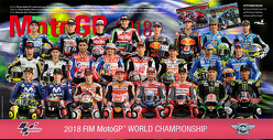 MotoGP 2018 Plakat von Neubert,  Jörg