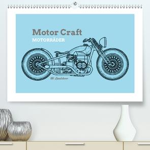 Motor Craft Motorräder (Premium, hochwertiger DIN A2 Wandkalender 2021, Kunstdruck in Hochglanz) von Landsherr,  Uli