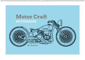 Motor Craft Motorräder (Wandkalender 2018 DIN A2 quer) von Landsherr,  Uli