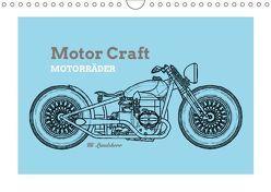 Motor Craft Motorräder (Wandkalender 2018 DIN A4 quer) von Landsherr,  Uli