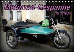 Motorrad-Gespanne in Kuba (Tischkalender 2021 DIN A5 quer) von von Loewis of Menar,  Henning