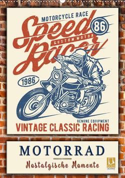 Motorrad – nostalgische Momente (Wandkalender 2020 DIN A2 hoch) von Roder,  Peter