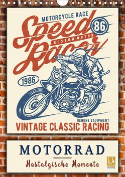 Motorrad – nostalgische Momente (Wandkalender 2020 DIN A4 hoch) von Roder,  Peter
