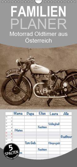 Motorrad Oldtimer aus Österreich – Familienplaner hoch (Wandkalender 2019 , 21 cm x 45 cm, hoch) von Siebenhühner,  Gabi