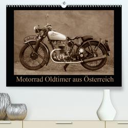 Motorrad Oldtimer aus Österreich (Premium, hochwertiger DIN A2 Wandkalender 2021, Kunstdruck in Hochglanz) von Siebenhühner,  Gabi
