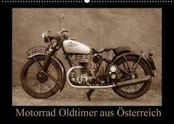 Motorrad Oldtimer aus Österreich (Wandkalender 2018 DIN A2 quer) von Siebenhühner,  Gabi