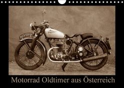 Motorrad Oldtimer aus Österreich (Wandkalender 2018 DIN A4 quer) von Siebenhühner,  Gabi