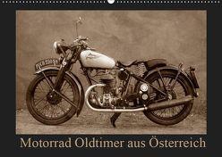 Motorrad Oldtimer aus Österreich (Wandkalender 2019 DIN A2 quer) von Siebenhühner,  Gabi