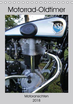 Motorrad Oldtimer – Motoransichten (Tischkalender 2018 DIN A5 hoch) von Ehrentraut,  Dirk