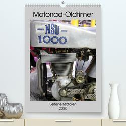 Motorrad Oldtimer – Seltene Motoren (Premium, hochwertiger DIN A2 Wandkalender 2020, Kunstdruck in Hochglanz) von Ehrentraut,  Dirk