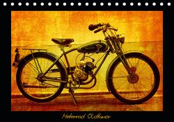 Motorrad Oldtimer (Tischkalender 2021 DIN A5 quer) von Siebenhühner,  Gabi