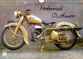 Motorrad Oldtimer (Wandkalender 2018 DIN A4 quer) von Siebenhühner,  Gabi