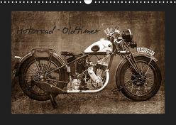 Motorrad Oldtimer (Wandkalender 2019 DIN A3 quer) von Siebenhühner,  Gabi