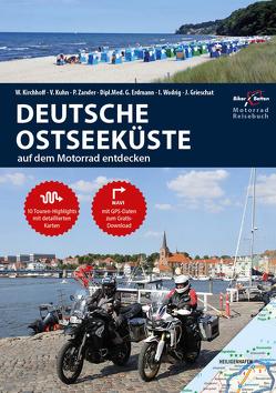 Motorrad Reiseführer Deutsche Ostseeküste von Kirchhoff,  Franz, Kirchhoff,  Werner