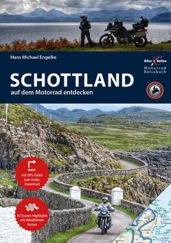 Motorrad Reiseführer Schottland von Engelke,  Hans Michael