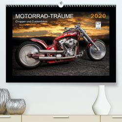 Motorrad-Träume – Chopper und Custombikes (Premium, hochwertiger DIN A2 Wandkalender 2020, Kunstdruck in Hochglanz) von Pohl,  Michael
