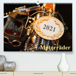 Motorräder (Premium, hochwertiger DIN A2 Wandkalender 2021, Kunstdruck in Hochglanz) von Kauss www.kult-fotos.de,  Kornelia