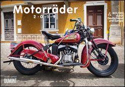 Motorräder & Routen 2019 – Broschürenkalender – mit Schulferientabelle – Format 42 x 29 cm von DUMONT Kalenderverlag, Seiffert,  Achim