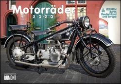 Motorräder & Routen 2020 – Broschürenkalender – mit Schulferientabelle – Format 42 x 29 cm von DUMONT Kalenderverlag, Seiffert,  Achim