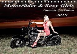 Motorräder und Sexy Girls 2019 (Tischkalender 2019 DIN A5 quer) von Talmon,  Udo