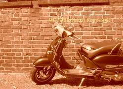 Motorroller Retro-Style von Lehmer,  Wolfgang M.