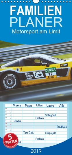 Motorsport am Limit 2019 – Familienplaner hoch (Wandkalender 2019 , 21 cm x 45 cm, hoch) von PM,  Photography
