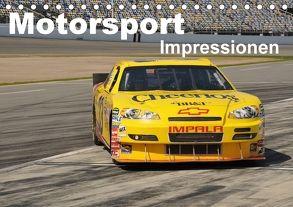 Motorsport – Impressionen (Tischkalender 2018 DIN A5 quer) von Bade,  Uwe