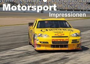 Motorsport – Impressionen (Wandkalender 2020 DIN A3 quer) von Bade,  Uwe