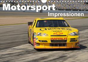 Motorsport – Impressionen (Wandkalender 2020 DIN A4 quer) von Bade,  Uwe